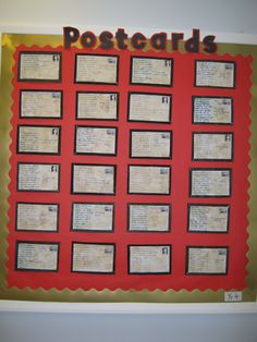 A super World War Two Postcards (Year classroom display photo contribution. Great ideas for your classroom! Primary Teaching, Teaching Social Studies, Teaching History, Teaching Themes, Primary Maths, Teaching Resources, School Displays, Class Displays, Classroom Displays