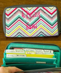 Dave Ramsey's Cash System with Thirty-one coupon clutch