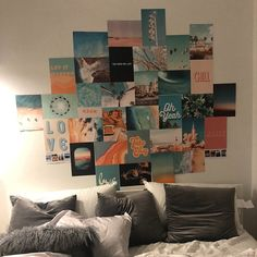 Collage Foto, Photo Wall Collage, Photo Collages, Wall Collage Decor, Bedroom Wall Collage, Decoration Tumblr, Photowall Ideas, Mode Poster, Living Room Photos