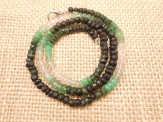 A-NATURAL-EMERALD-SHADED-RONDELLE-FACETED-BEADS-STRAND-NECKLACE-16-LONG-175-PEC