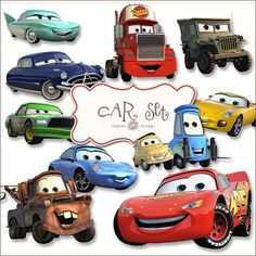 Free CARS printable graphics