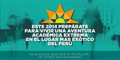Post Facebook: INICIO XXII CONEA PUCALLPA 2014