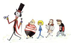 Charlie & the Chocolate Factory Characters