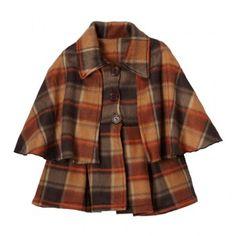 Clara Brown Cape Jacket