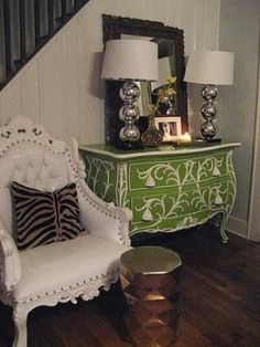Painted Bombay Chest by renee