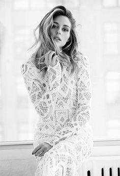 fc3ad2628bb6 Olivia Palermo by Gabor Jurina for FASHION Magazine March 2016 - Jonathan  Simkhai Spring 2016 dress