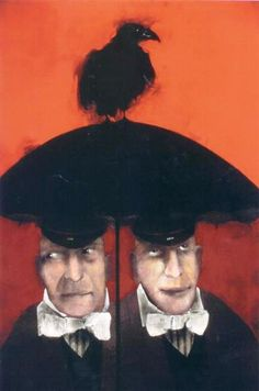 Brothers Tweedle: From Mary Kline-Misol's Alice Cycle series inspired by the writings of Lewis Carroll