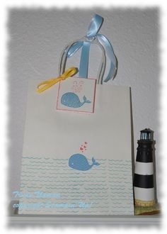Oh, Whale Baby Gift Bag