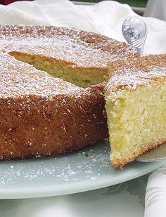 Almond & Olive Oil Cake