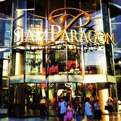 Siam Paragon (สยามพารากอน)-  Take the Sky Train to Siam Paragon for excellent shopping.