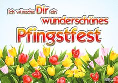 Whitsun from - Gruß - Pentecost, In This Moment, Smiley, Advent, Cups, Humor, Gallery, Check, Party