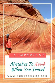 Do you think about any of the important mistakes to avoid when you travel? Don't be a victim of your creation by forgetting number 1 and 3. via @abusybeeslife: