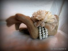 Folded Sola Flower Wristlet Corsage by TheBackyardGardener on Etsy, $13.50 wood flower , love this for mother of the bride and groom !