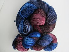 Hand Dyed Sock Yarn  6.5 oz Merino & Nylon SW