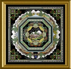 "ONL 005 A – The Alpine Garden Mandala – spec. ""Outlander"" Edition – Chatelaine"