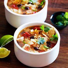 Chicken Tortilla Soup | MyRecipes.com