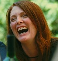 Julianne Moore laughter
