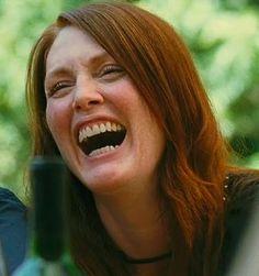 Julianne Moore laughter