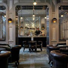 Great list of Modern London Bars  http://liquor.com/articles/one-for-the-road-modern-london/#