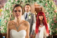 Hollyoaks: Russ Owen DEAD after Mercedes McQueen wedding and Sylver affair Hollyoaks, Affair, Husband, Lifestyle, Wedding Dresses, Celebrities, Fashion, Bride Dresses, Moda