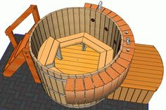 hottub overview 3 D