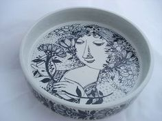 TOP DESIGN ART DECO BJORN WIINBLAD DICH LADY FLOWER | eBay