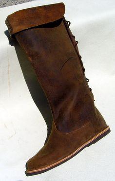 Mittelalter Stiefel Model