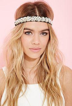 Sequin Flower Headband | FOREVER 21 - 1000056511