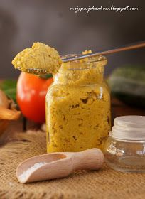 moje pasje: Domowe warzywne łyżeczki bulionowe zamiast kostek I Love Food, Pickles, Cucumber, Vegetarian, Dinner, Cooking, Healthy, Spices And Herbs, Health And Beauty