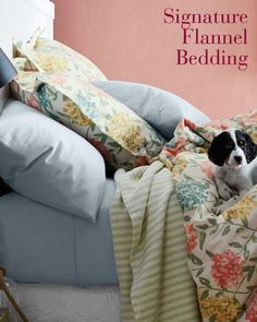 Signature Flannel Bedding [Promotional Pin]