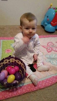 Izzy's 1st Easter