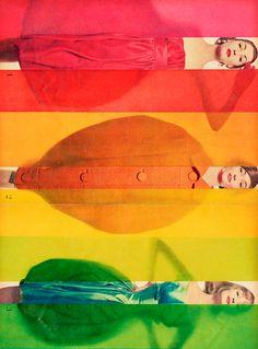 "Erwin Blumenfeld  ""Rage for Colors"""