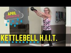 """High Intensity Kettlebell Workout ... Get sweaty with this tough and fast-paced KETTLEBELL HIIT workout, designed to tone your arms, shoulders, abs, butt, and legs, as well as your heart and lungs!  We're working on a handful of LOW IMPACT cardio and strength kettlebell exercises performed in short intervals and stacked into """"triplets"""" with very little rest between.  You'll build long and lean muscles while getting a terrific fat burn!  Find more FREE workout videos at www.PahlaBFitness.com"""