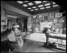 1 West 64th Street. Harperly Hall, Mrs. Cutchean's or Cutcheon's apartment.