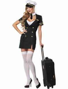 Ready for Take Off [FD70224] - £33.95  Get It On Fancy Dress  sc 1 st  Pinterest & 35 best Air Hostesses and Pilotu0027s Costumes images on Pinterest ...