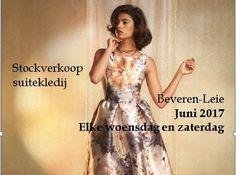 Stockverkoop suitekledij bij La Sposa -- Beveren-Leie -- 03/06-14/06