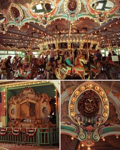 5 Carousels in the Washington, DC Area that Wee Love - Wee in DC