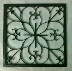 Easy DIY Iron Wall Art! (why buy expensive wall art made in china when you can make it yourself, better?)