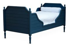 Blue Beach House Bed, Twin | Room to Grow | One Kings Lane