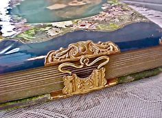 Gorgeous Victorian Album of Celluloid and Velvet with Approx. 53 Photographs on Etsy, $150.00