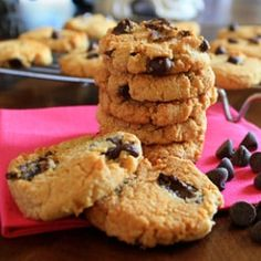 Grain-Free Chocolate Chip Cookies by healthyfamilyandhome
