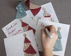 Skapa dina egna julkort med personlig touch!