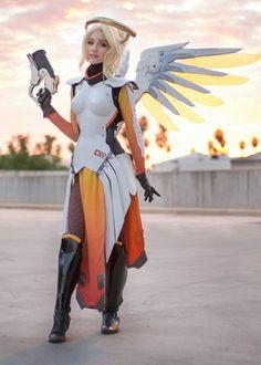 Mercy overwatch cosplay