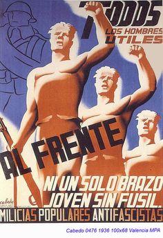 Spain - 1936. - GC - poster - Fernando Cabedo Torrents