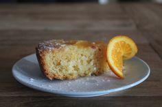 Omgekeerde sinaasappelcake