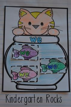 Interactive Sight Word Notebooks are just want kindergarten students need to learn and practice dolch pre-primmer sight words! Kindergarten Writing, Kindergarten Activities, Teaching Reading, Teaching Ideas, Preschool, Word Notebooks, Interactive Notebooks, Reading Notebooks, Sight Word Worksheets