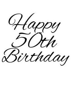 Image result for 50th birthday clip art