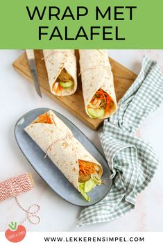 Falafel, Feta, 20 Min, Soul Food, Wraps, Mexican, Ethnic Recipes, Foods