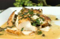 Haddock Piccata @FoodBlogs