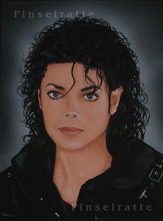 Michael Jackson - My Heart - absolutes Unikat, Acryl Bild, Gemälde, Portrait